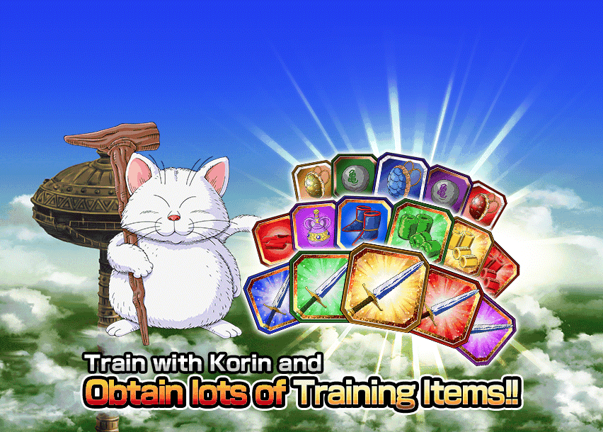 Training at Korin's Tower Event