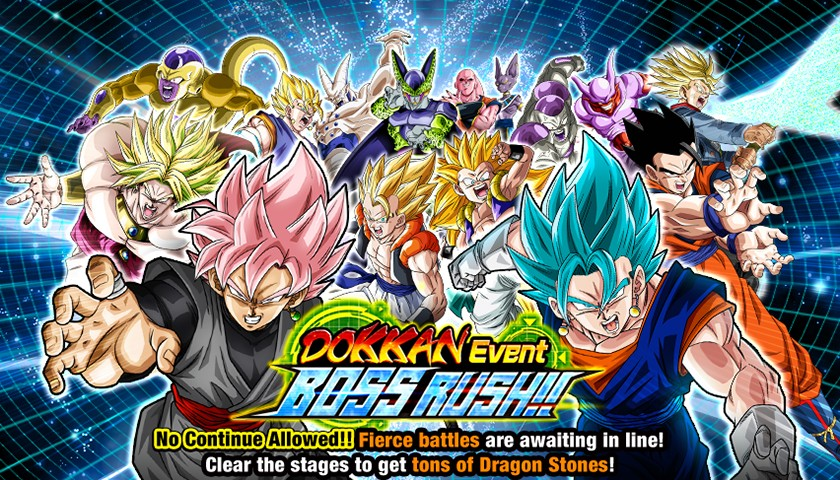 Dokkan Event Boss rush