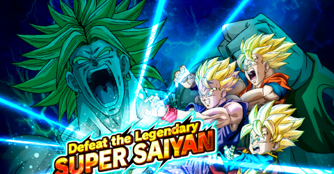 Defeat the legendary super saiyan