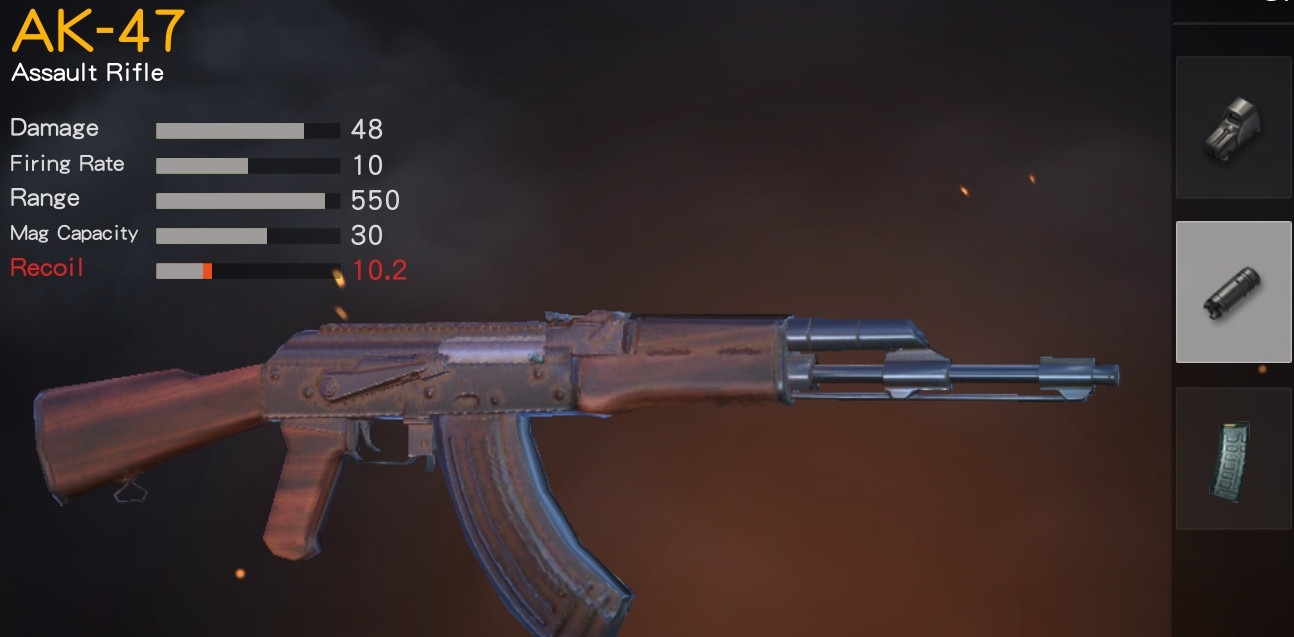 Ak-47 with Compensator
