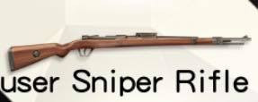 Knives Out Mauser Sniper Rifle