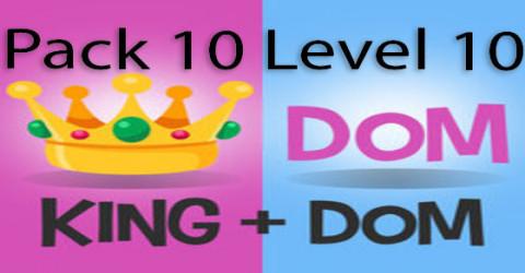 Pack 10 level 10