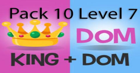 Pack 10 level 7