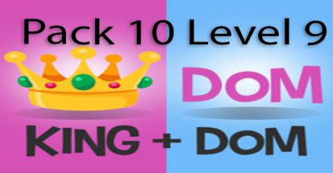 Pack 10 level 9