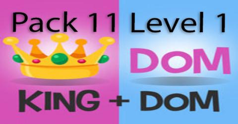 Pack 11 level 1