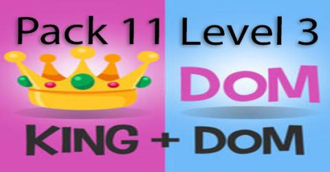Pack 11 level 3
