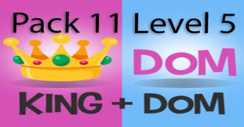 Pack 11 level 5
