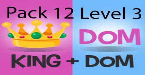 Pack 12 level 3