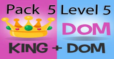 Pack 5 level 5