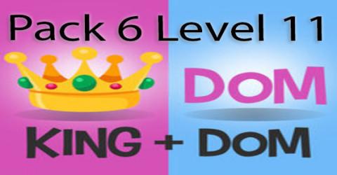 Pack 6 level 11