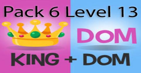 Pack 6 level 13