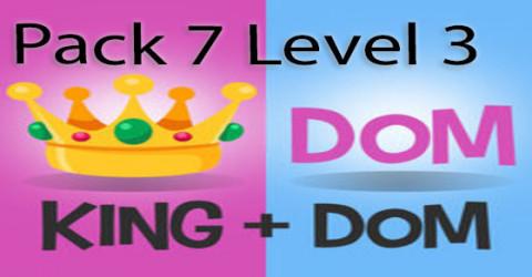 Pack 7 level 3