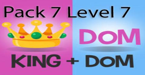 Pack 7 level 7