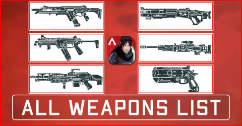 Apex Legends Mobile Weapons List