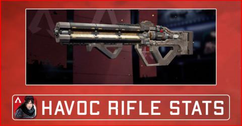 Apex Legends Mobile Havoc Rifle Damage Stats, Attachments, & Skins