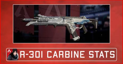 Apex Legends Mobile R-301 Carbine Damage Stats, Attachments, & Skins