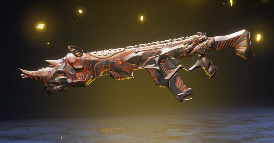 R301 Weapon Skin - The Iron Rampage in Battle Charge Apex Legend Season 2