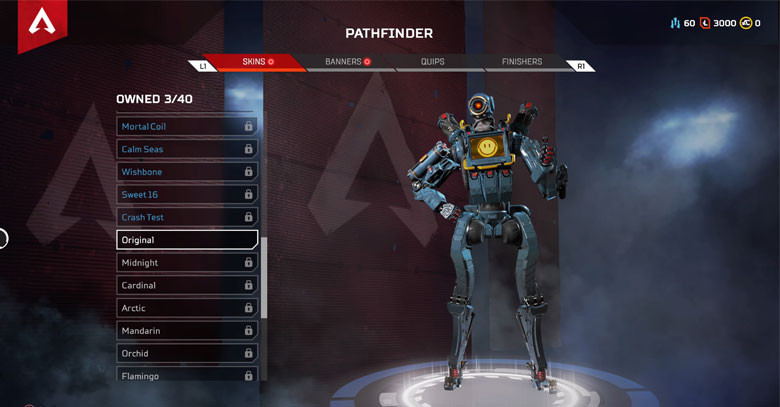 Character: Pathfinder - Apex Legends.