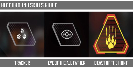 Bloodhound Skills Guide in Apex Legends.