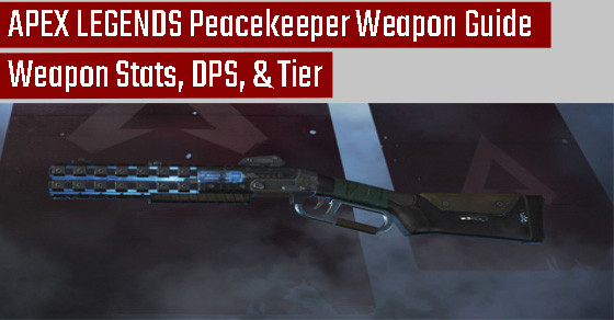 Peacekeeper Shotgun Guide in Apex Legends.