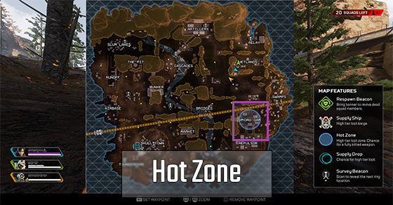 Circle Track Supply >> Kings Canyon - Map Guide | Apex Legends - zilliongamer