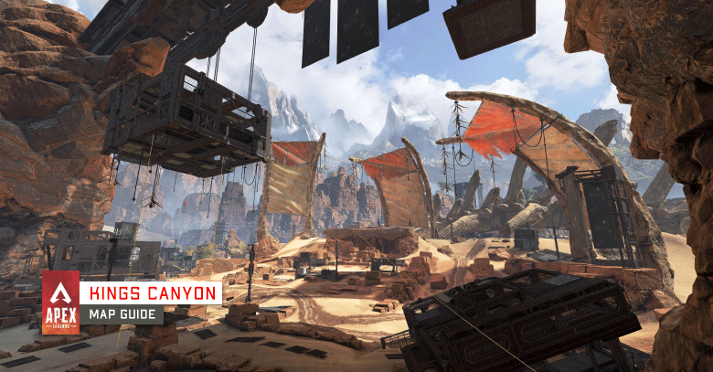 Kings Canyon - Map Guide in Apex Legends.
