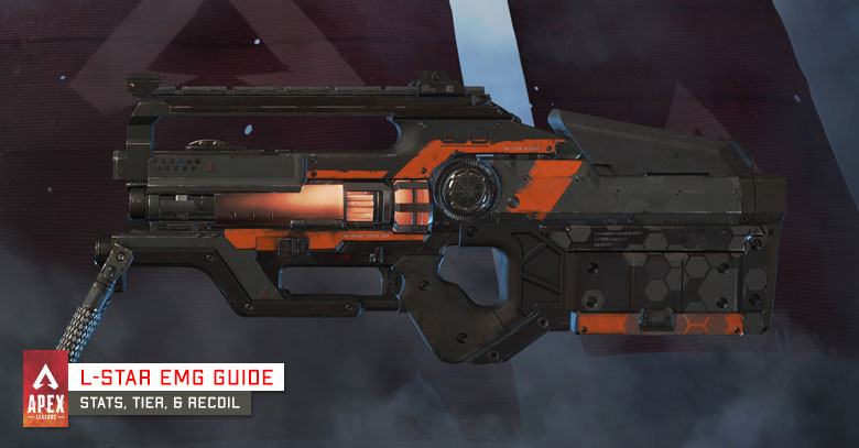 L-Star EMG New Weapon in Apex Legends.