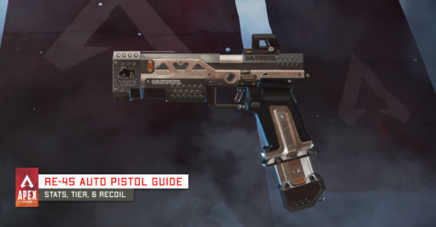 RE-45 Weapon Information & Stats