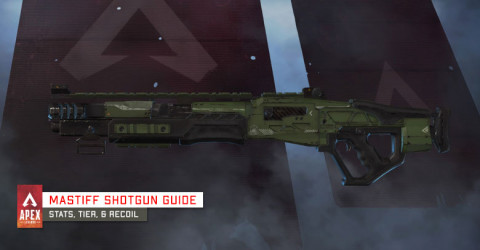 Mastiff Shotgun Weapon Information & Stats
