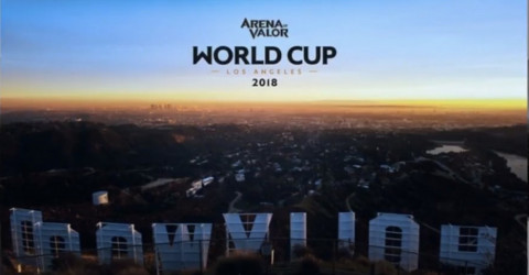 Arena of valor world cup announcement