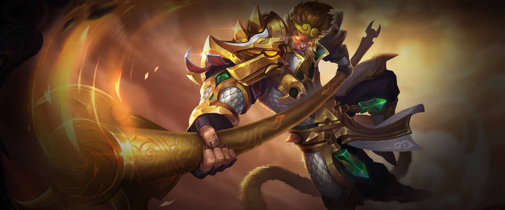 Wukong Assassin hero in Arena of Valor