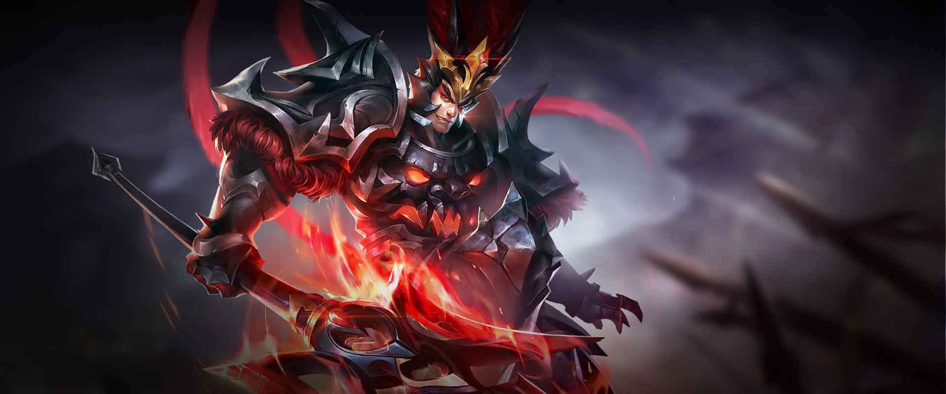 Lu Bu Warrior hero in Arena of Valor