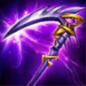 Tier 3 attack damage items that provide attach damage and cooldown speed and increase movement speed when killing enemy