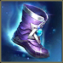 Enchanted kicks will provide 60 movement speed and 75 magic perce