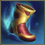 flashy boot will provide 10% cooldown speed and 60 movement speed