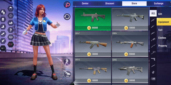Bullet Angel Currency: Gold - zilliongamer