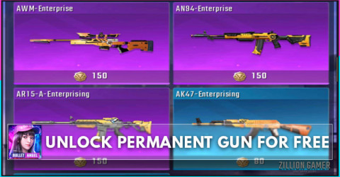 How To Get Free Gun in Bullet Angel Permanently