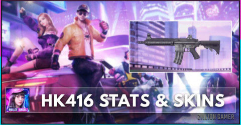 HK416 Stats, Skins, & How To Get