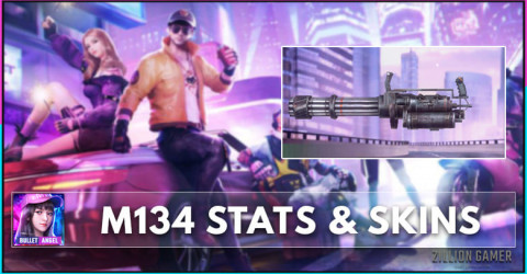 M134 Stats, Skins, & How To Get