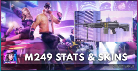 M249 Stats, Skins & How To Get