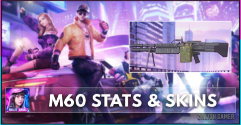 M60 Stats, Skins, & How To Get