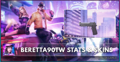 Beretta60TW0 Stats, Skins & How To Get