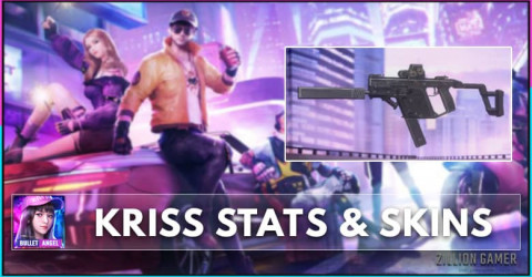 Kriss Stats, Skins, & How to Get