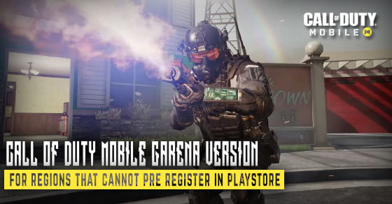 For Southeast Asia regions that can't pre-register the game in playstore.