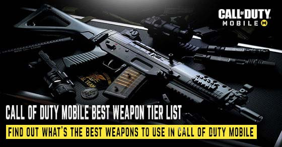 Find out the best weapons to use in Call of Duty Mobile