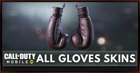 Call of Duty Mobile Gloves - Weapon List