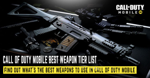 Call of Duty Mobile Weapon Tier List