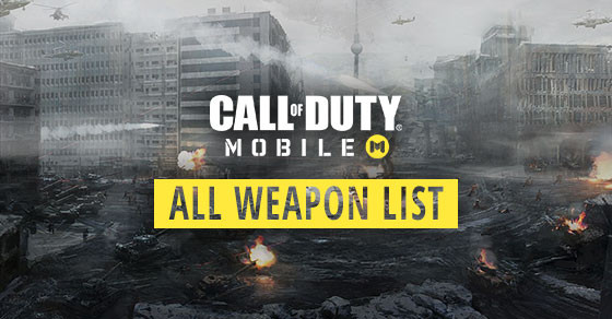 Find Out All Weapon List & Stats in Call of Duty Mobile Here.