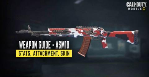 ASM10 Stats, Attachment, & Skin