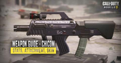 Chicom Weapon Stats, Attachment, & Skin